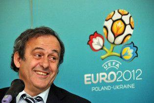 Платини: Евро-2012 в Украине - это, возможно, ошибка