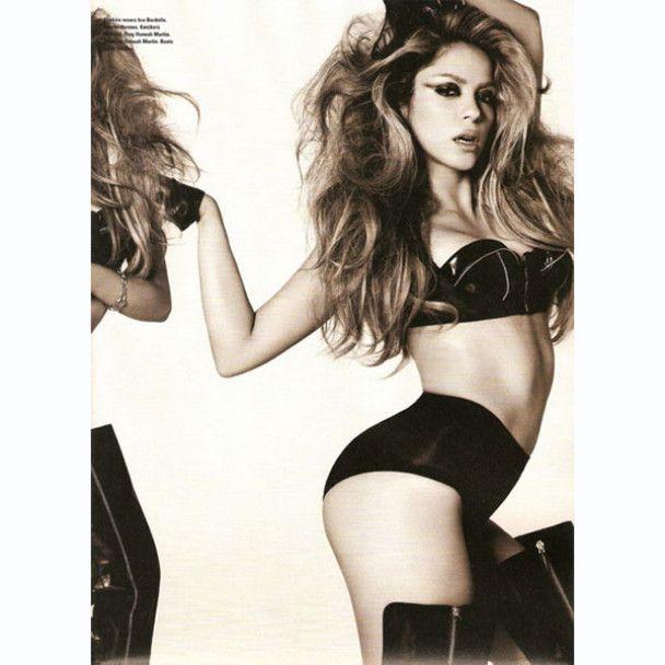 Шакира не хочет раздеваться