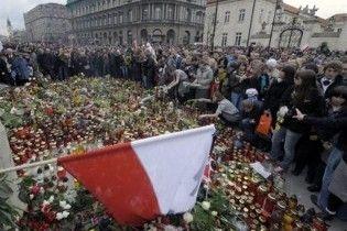 Похороны Качиньского могут перенести из-за извержения вулкана
