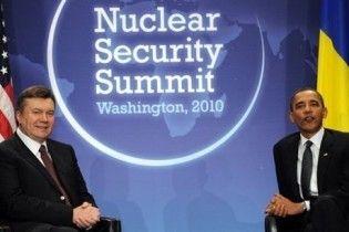 Янукович и Обама договорились о стратегическом партнерстве