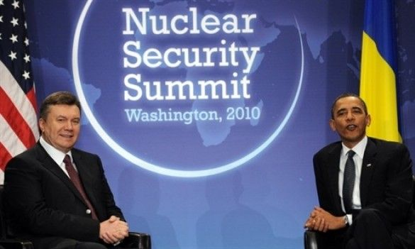 Віктор Янукович та Барак Обама
