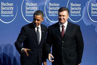 Обама отправил Януковичу хвалебное письмо
