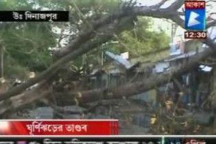 В результате урагана в Индии погибли 114 человек