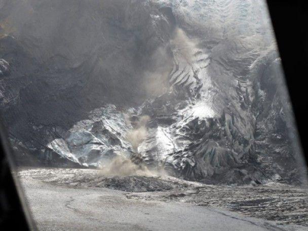 Облако вулканического пепла из Исландии дошло до Польши