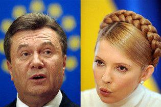 Сегодня состоятся теледебаты между Тимошенко и Януковичем