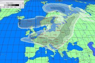 Облако пепла накрыло Европу и продолжает расти