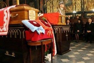Польша попрощалась с президентом Качиньским