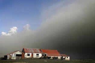 Облако вулканического пепла вновь надвигается на Европу