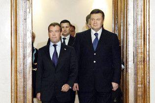 Янукович и Медведев подписали газовый контракт с 30-процентной скидкой