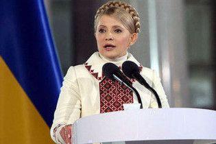 Тимошенко объявила себя лидером всех демократических сил