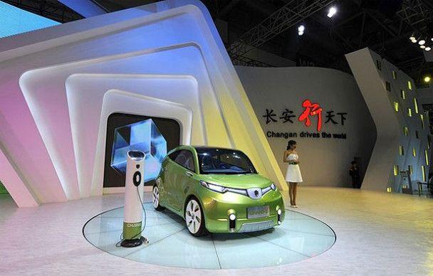Футуристический автосалон в Пекине