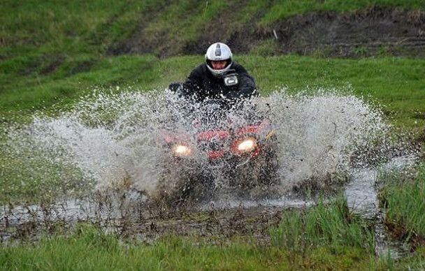 Сын Януковича выиграл ралли на болоте