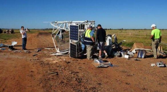 Розбився зонд NASA. Фото ntnews.com.au