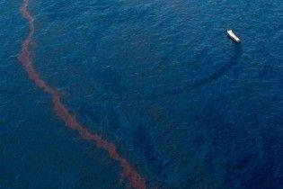 Нефтяное пятно достигло побережья Луизианы
