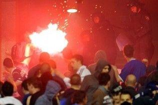 На футбольном матче в Загребе произошла массовая драка, более 20 раненных