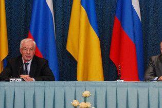 Азаров встретился с Путиным в России