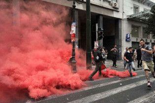 В Греции бастуют работники метро, радио и телевидения