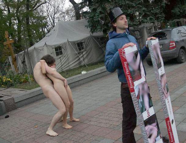 За секс под Верховной радой парню дали год условно