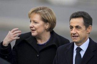 Меркель и Саркози пообещали Греции политическую поддержку