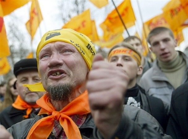 Украина отмечает 20 лет Независимости