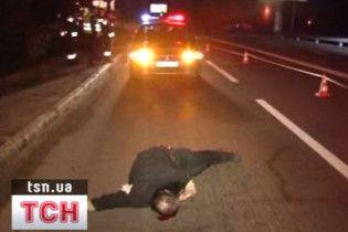 Омельченко показал, как сбил человека
