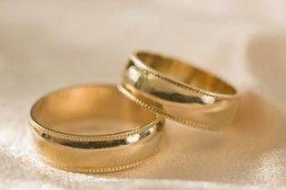 Украинцы стали чаще жениться и меньше разводиться