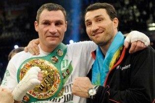 Братья Кличко заняли 8 и 12 места в мировом рейтинге