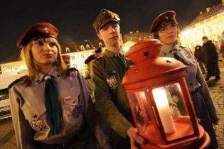 В Украину прибыл Вифлеемский огонь мира
