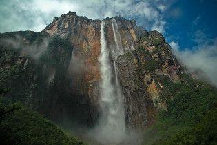 Самый высокий в мире водопад Анхель высох