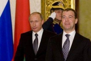 Медведев отказался конкурировать с Путиным на выборах-2012