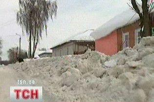 У Черновецкого говорят, что студенты сами напросились чистить снег