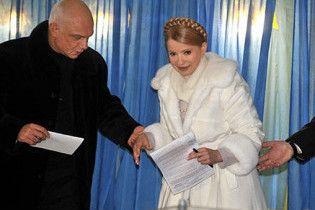 Тимошенко рассказала, как проведет день выборов