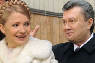 Янукович: у Тимошенко нет шансов