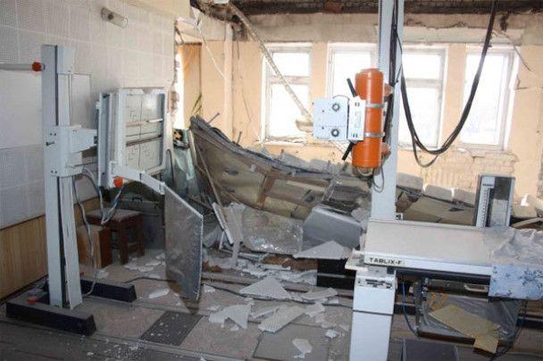 Взрыв в луганской больнице: 22 человека пропали без вести