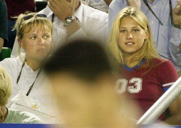 Анна курнікова та мама алла