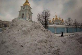 У Черновецкого отчитались об убранном снеге