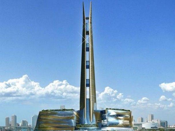Американцы собрались побить рекорд самого высокого небоскреба в мире