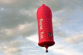 Французы совершат кругосветное путешествие на надувном презервативе