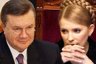 БЮТ: во время встречи Тимошенко с Януковичем ни он, ни яйца не пострадают