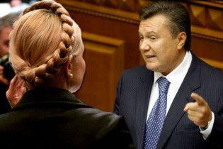"""Янукович: Тимошенко рискует стать """"палачом Помаранчевой революции"""""""