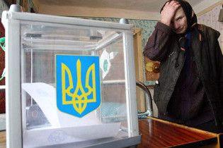 Аутсайдерами в подсчете голосов остаются Крым и Луганская область