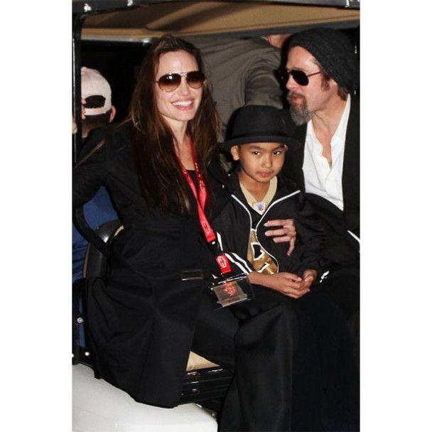 Анджелина Джоли ест тараканов