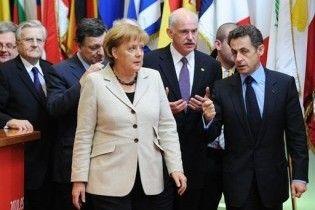 """Саркози заявил, что обвал евро будет означать """"смерть"""" Европы"""