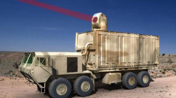 Лазерна установка Boeing
