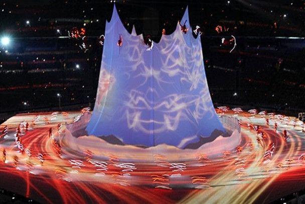 Открытие XXI Олимпийских игр в Ванкувере