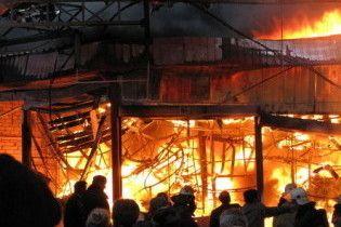 Во Львове сгорела гостиница