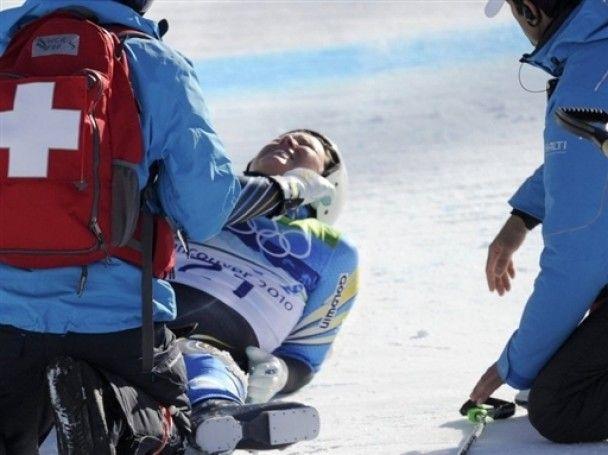 """Претендентка на """"золото"""" Олимпиады получила травму перед финишем"""