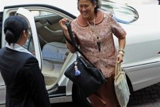Грузовик протаранил кортеж принцессы Таиланда