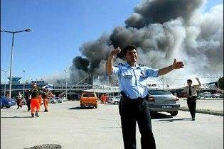 В крупнейшем аэропорту Стамбула произошел пожар