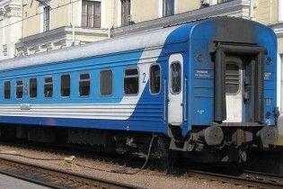 В Луганской области загорелся пассажирский поезд